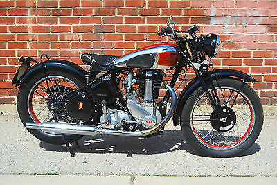 BSA : M33 1948 bsa m 33 rare early girder fork mechanically excellent ready to ride