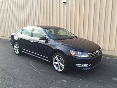 Volkswagen : Passat TDI SEL Premium Sedan 4-Door 2014 vw passat tdi sel diesel 45 mpg clean bluetooth brand new iphone loaded