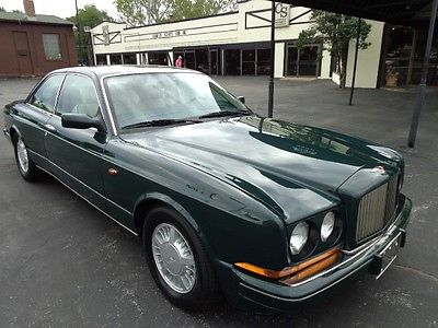 Bentley : Other Continental R 1993 bentley continental r 1 of 209 made virtual one owner