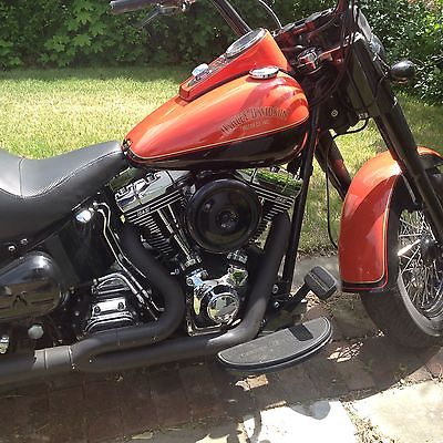 Harley-Davidson : Softail 02 fatboy 10500 miles on bike 2400 on engine upgrade s s 100 cube must see
