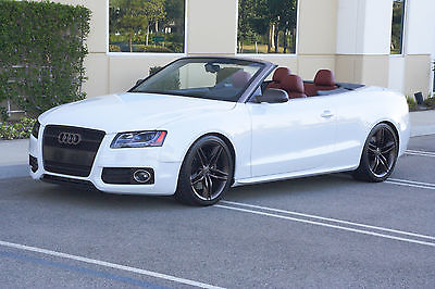 Audi : S5 Includes 'LSM-5' performance & appearance package Audi S5 Convertible - with NEW LSM-5 (415+ HP) Performance + Appearance Package