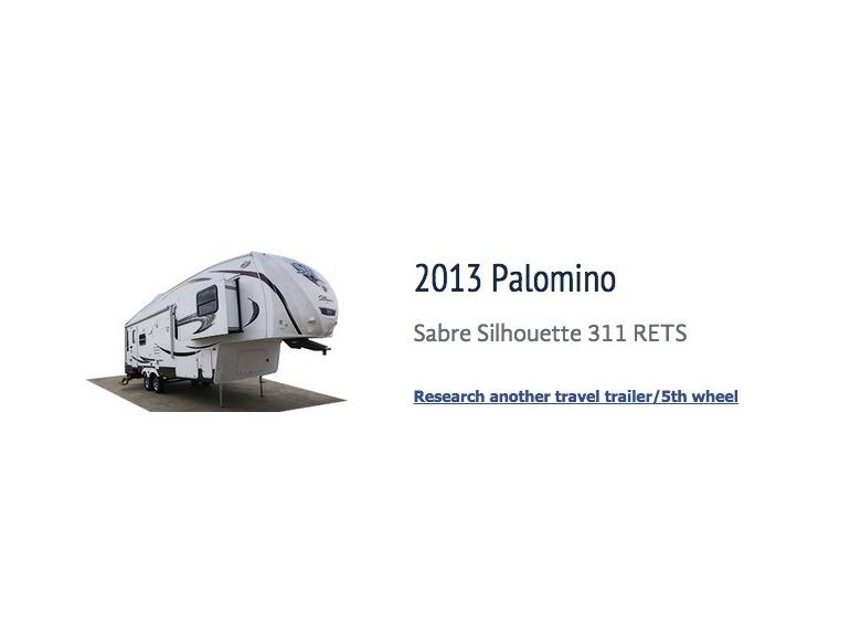 2013 Palomino Sabre Silhouette