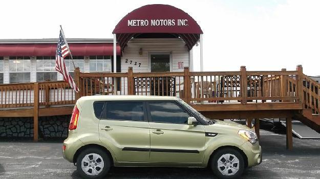 2012 Kia Soul Base - Metro Motors, Springfield Missouri