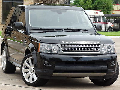 Land Rover : Range Rover Sport Supercharged Sport Utility 4-Door 2010 land rover range rover sport supercharged headrest tv rear camera luxury