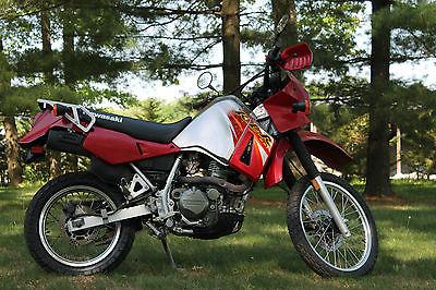 Kawasaki : KLR 2006 kawasaki klr 650 dual sport one owner garage kept only 8000 miles