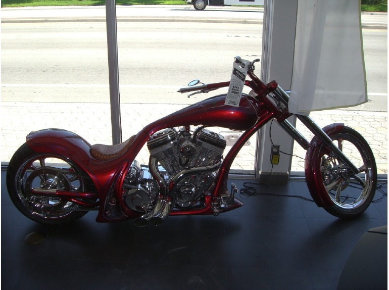 2007 Thunder Cycle Designs Drop seat softail