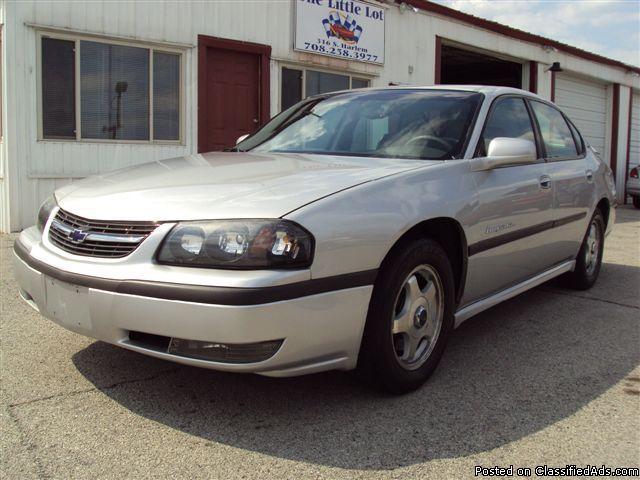 2002 chevy impala ls cars for sale. Black Bedroom Furniture Sets. Home Design Ideas