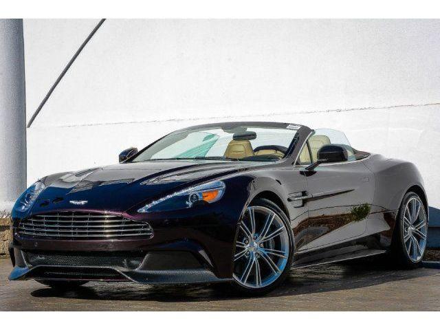 Aston Martin : Vanquish STUNNING 2014 ASTON MARTIN VANQUISH VOLANTE