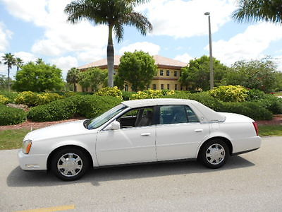 Cadillac : DeVille FLORIDA 1-OWNER DEVILLE 43K MILES AND SERVICED! BEAUTIFUL FLORIDA 2004 CADILLAC SEDAN DEVILLE 43K MILES! 1-OWNER AND SERVICED!