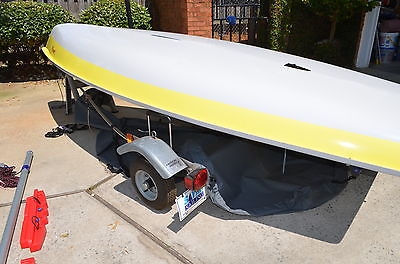 2006 Vanguard Laser Sailboat - With a Full and Radial Sail