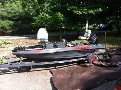 1987 Skeeter Strada 15 foot Bass Boat wfishfinder new trolling motor No Reserve