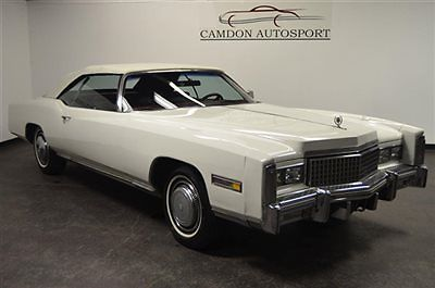 Cadillac : Eldorado Convertible TOP, CARPETS REPLACED; LEATHER; PWR TOP, FRONT BENCH, WINDOWS, & LOCKS. TRADES?