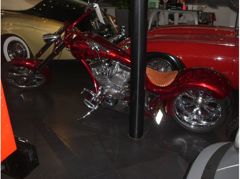 2012 Thunder Cycle Designs single sided softail
