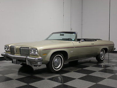 Oldsmobile : Other ALL-ORIGINAL LAND YACHT, FULLY LOADED, ROCKET 350 V8, AUTO, GET-IN-AND-GO READY!