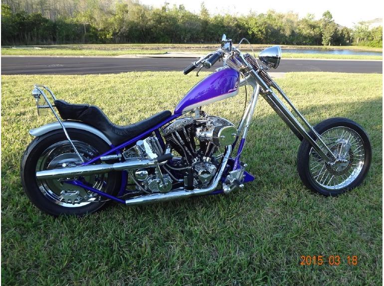 Harley Shovelhead Chopper Motorcycles For Sale