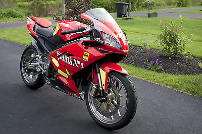 Aprilia : RS 125 2009 aprilia rs 125 street legal gp replica two stroke motorcycle