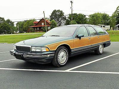 Buick : Roadmaster Estate Wagon Wagon 4-Door GRANDPA'S SHARP 1993 ROADMASTER ESTATE WAGON LOW MILES