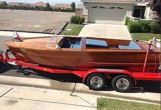 2012 Glen L Misty Miss Hand Built 5 Year Construction 4 Hours on 1950 Graymarine