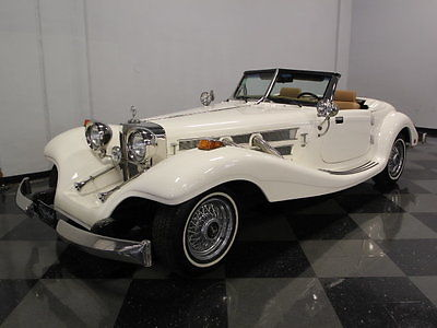 Replica/Kit Makes Mercedes SSK ONLY 1K MILES ON A BRAND NEW BUILD, CHEVY 350 V8, COLD A/C, GREAT COLOR COMBO!