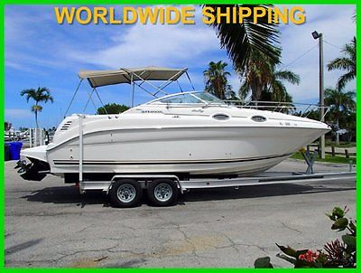 2001 SEA RAY SUNDANCER 260! ONE OWNER! 350 HOURS! SUPER CLEAN!