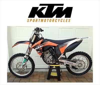 KTM : SX KTM 350 SXF 2011 **LIKE NEW**