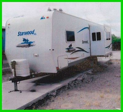2005 Mckenzie Starwood 27' Travel Trailer Slide Out Sleeps 4 Anti-Sway Tow Bar