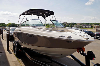 2007 Chaparral 236 SSI 24' Sterndrive, Fresh Water, Trailer, 350 Mag Engine!