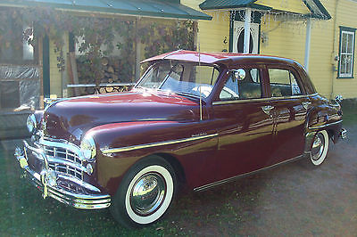 Dodge : Other 4 dr Dodge custom 1949