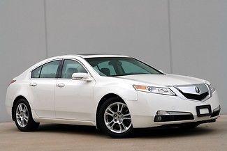 Acura : TL Tech 2009 acura tl clean carfax