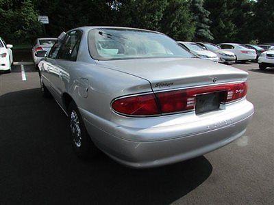 Buick : Century 4dr Sedan Custom 4 dr sedan custom low miles automatic gasoline v 6 cyl sterling silver metallic