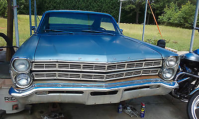 Ford : Galaxie 500 1967 ford galaxie 500 with the 390 engine runs good