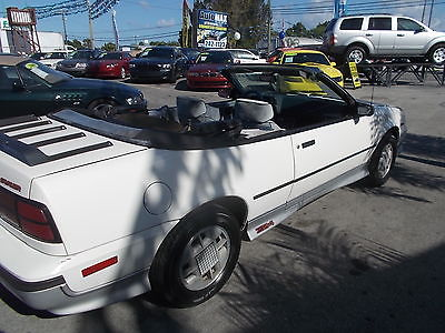 Chevrolet : Cavalier 2D Convertible 1988 chevrolet cavalier convertible z 24, 1