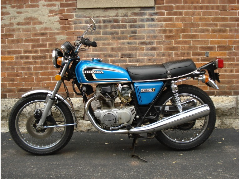 1975 Honda Cb360t Motorcycles For Sale