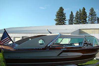 1960 Century Coronado.  Full Sliding Top With Porthole. Beautiful Classic. Look!