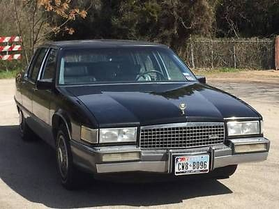 Cadillac : Fleetwood 4 Door 1989 cadillac fleetwood v 8 a c ready to drive