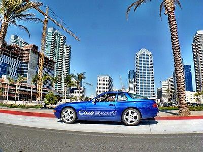 Porsche : 968 COUPE SPORT 1995 porsche 968 coupe sport 6 speed 110 of 259 built last year pristine clean