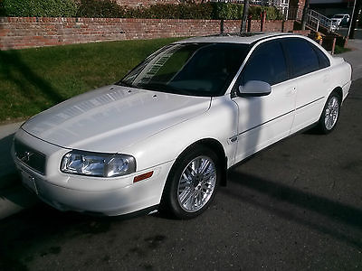Volvo : S80 2.9 2003 s 80 volvo 2.9 non turbo white 165 k tons of new parts uber ready