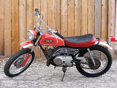 Yamaha : Other 1971 yamaha jt 1 l mini enduro with lights