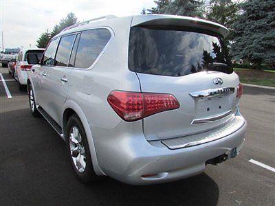 Infiniti : QX56 4WD 4dr 8-passenger 4 wd 4 dr 8 passenger low miles suv automatic gasoline 5.6 l 8 cyl liquid platinum