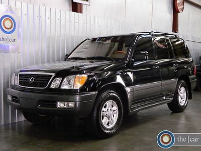 Lexus : LX 4WD LX 470 4WD LOW MILES! 1 OWNER! FULL LEXUS SERVICE HISTORY! IMMACULATE! NICEST!