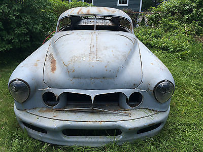 Cadillac : Other custom 1956 cadillac coupe project chopped widened bagged look roller shell