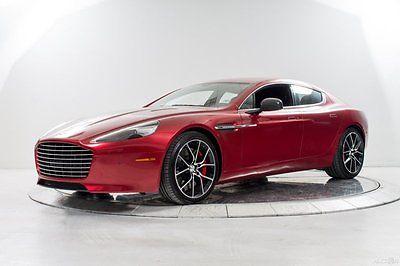 Aston Martin : Other S V12 Automatic Carbon Fiber Rear Entertainment Duotone Perforated Ventilated Alarm Titanium 4