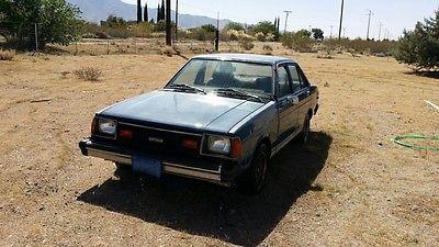 Datsun : Other 4 Door Sedan 1982 datsun 210 4 door coupe automatic runs good rare a 15 engine