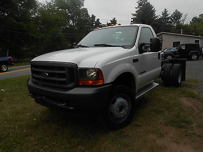 Ford : Other Pickups 7.3 TURBO DIESEL 2001 ford f 550 super duty xl stripped chassis 7.3 l