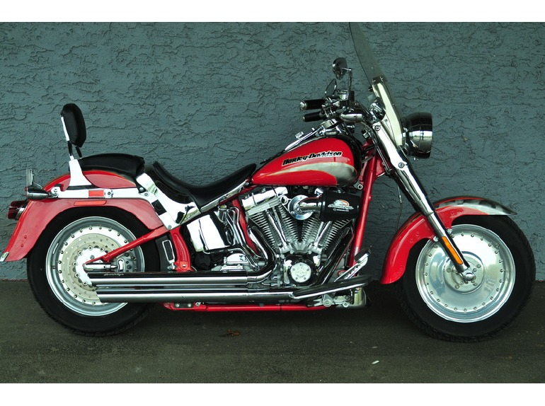 2005 Harley-Davidson FLSTFSE - CVO FATBOY