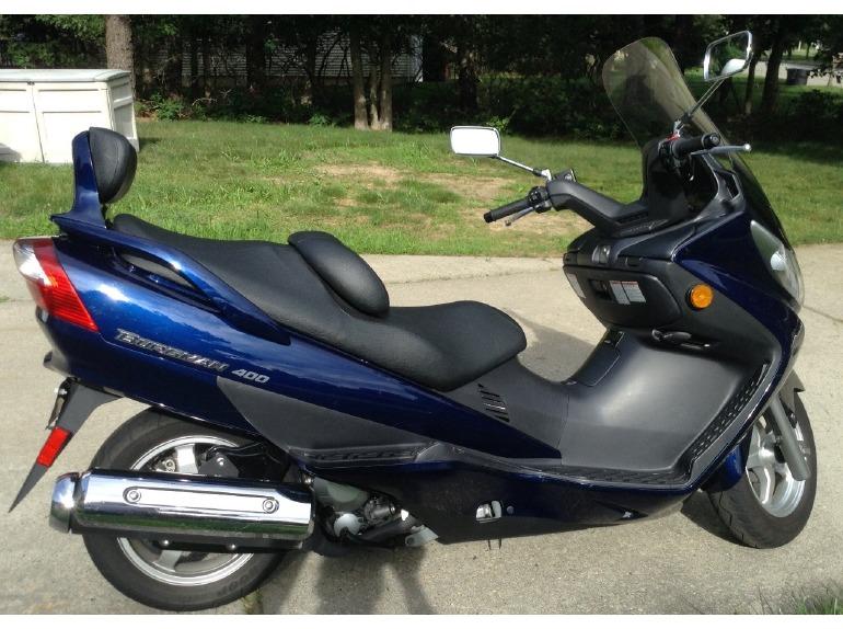 2003       Suzuki       Burgman       400    Motorcycles for sale