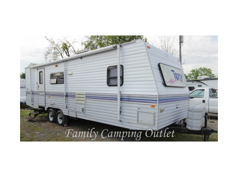 1995 Fleetwood TERRY 30G BUNKHOUSE TRAVEL TRAILER