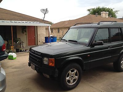 Land Rover : Discovery Series II Sport Utility 4-Door Land Rover Discovery II. This SUV has been well taking care of by Cowtown Rover