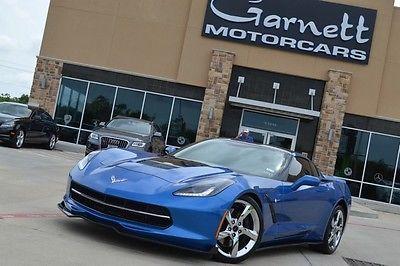 Chevrolet : Corvette Z51 3LT PREMIER EDITION #112 OF 500 2014 chevrolet corvette stingray 7 spd manual supercharger must see
