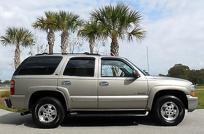 Chevrolet : Tahoe CARFAX CERTIFIED 4X4 LOADED SUV LIKE LT SPORT UTILITY~3 ROWS LEATHER~SUNROOF~RECORDS~$12k OPTIONS~01 02 03 04 05